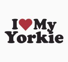 I Heart Love My Yorkie by HeartsLove