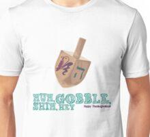 Shin, Gobble, Nun, Hey! Unisex T-Shirt