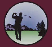 golfer by Paul Simms