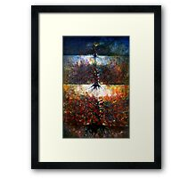 The Fire Of Forest -The Fire Of Heart Framed Print