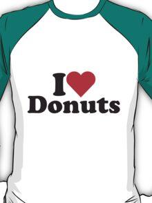 I Heart Love Donuts T-Shirt
