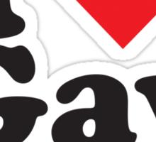 I Heart Love Gay Porn Sticker
