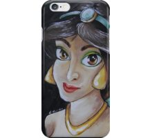 Jasmine in a Vermeer Style (Girl with the Pearl Earring) iPhone Case/Skin