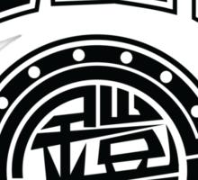 Gaim Crew (black) Sticker