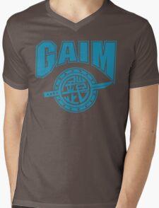 Gaim Crew (light blue) Mens V-Neck T-Shirt