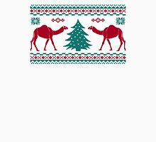 Tribal Camel Christmas Hump Day Ugly Sweater Men's Baseball ¾ T-Shirt
