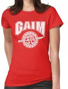 Gaim Crew (white) Womens Fitted T-Shirt