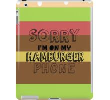 Phone Problems iPad Case/Skin