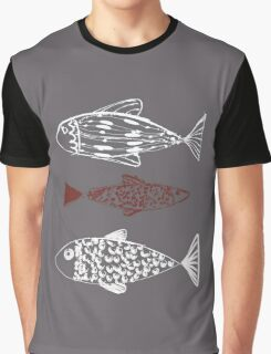 Nautical sealife Graphic T-Shirt