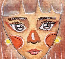 Deerly Girl Sticker