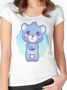 Grumpy bear Women's Fitted Scoop T-Shirt