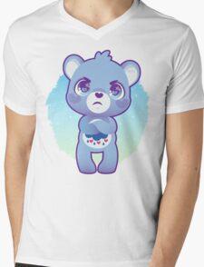 Grumpy bear Mens V-Neck T-Shirt