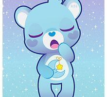 bedtime bear by cutegalaxy