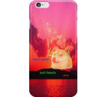 Sunset Doge iPhone Case/Skin