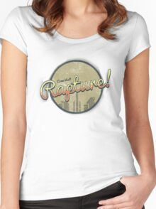 Come Visit Rapture! Women's Fitted Scoop T-Shirt
