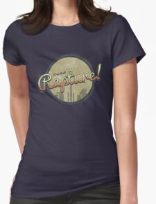 Come Visit Rapture! Womens Fitted T-Shirt
