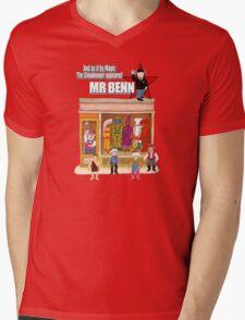 Mr Benn Mens V-Neck T-Shirt
