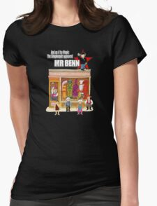 Mr Benn Womens Fitted T-Shirt