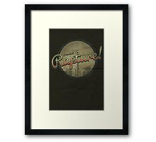Come Visit Rapture! Framed Print