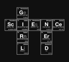 GIRL SCIENCE NERD - Periodic Elements Scramble! Kids Clothes