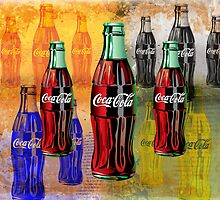 Coke - Coca Cola - Pop Art by STUDIO 88 TARANAKI NZ