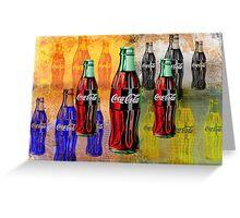 Coke - Coca Cola - Pop Art Greeting Card