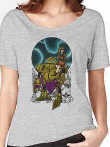 Lucca and Robo, shirt Women's Relaxed Fit T-Shirt
