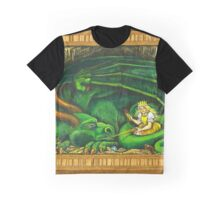 The Princess and the Dragon Graphic T-Shirt
