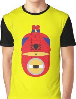Minion-Spiderman T shirt  Graphic T-Shirt