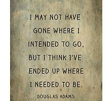 Douglas Adams by chelseasometime