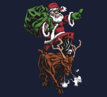 Santa Adventurer Extraordinaire  Kids Tee