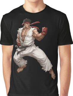 Street fighter-Ryu t shirt  Graphic T-Shirt