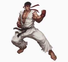 Street fighter-Ryu t shirt  Kids Tee