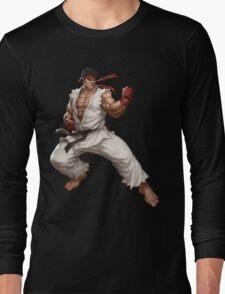 Street fighter-Ryu t shirt  Long Sleeve T-Shirt
