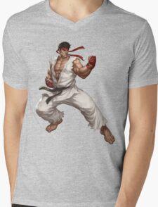 Street fighter-Ryu t shirt  Mens V-Neck T-Shirt