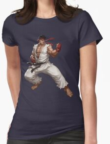 Street fighter-Ryu t shirt  Womens Fitted T-Shirt