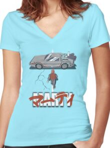 Marty 2015 Women's Fitted V-Neck T-Shirt