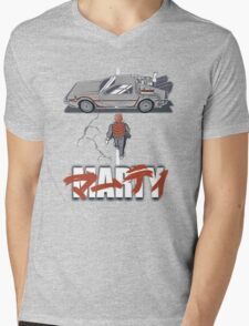 Marty 2015 Mens V-Neck T-Shirt