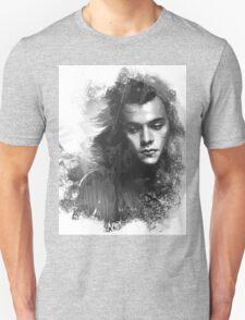 Through the glass. Black&white Unisex T-Shirt