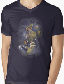 Timey-Wimey Infinite Mens V-Neck T-Shirt
