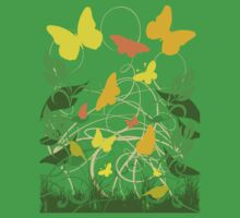 Spring Butterflies by refreshdesign