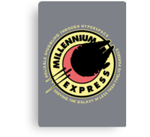 Millennium Express v2 Canvas Print