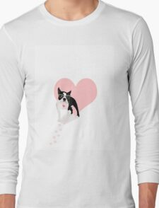 Boston Terrier love Long Sleeve T-Shirt