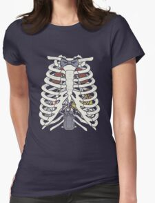 Doctor Inside Womens Fitted T-Shirt