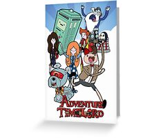 Adventure Time-Lord 11  Greeting Card
