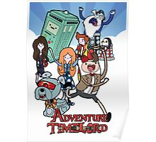 Adventure Time-Lord 11  Poster