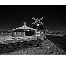 Stop on Red Signal Photographic Print
