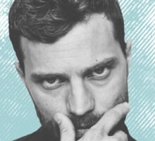 Jamie Dornan - Blue V2 Sticker