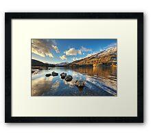 Llyn Gwynant, Snowdonia Framed Print
