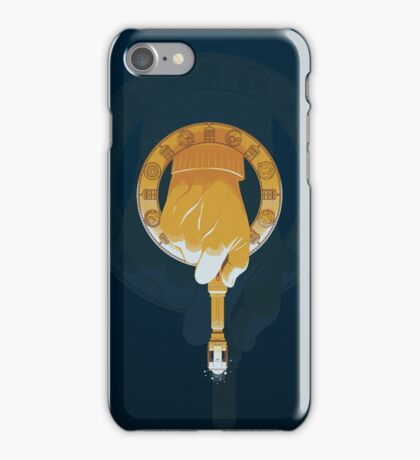 HAND OF THE DOCTOR iPhone Case/Skin
